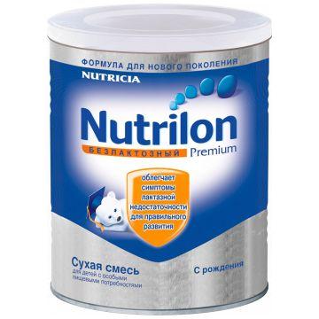 Сухая молочная смесь Nutrilon Безлактозный с рождения 400 гр