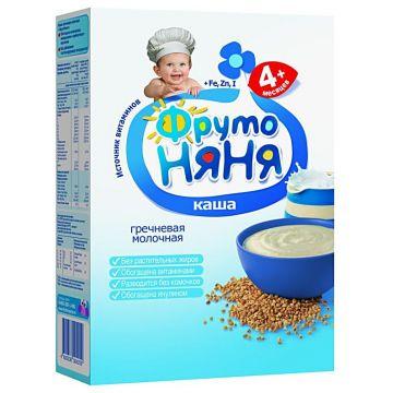 Каша Фрутоняня гречневая молочная 1 ступень 200 г