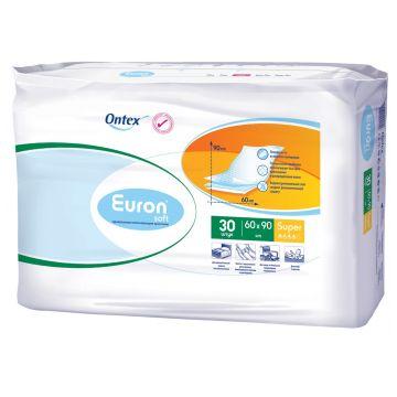 Впитывающие Простыни Euron Soft Super 90x60 30 шт