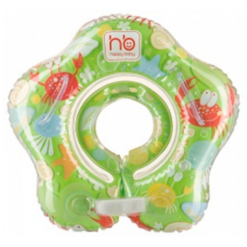 Надувной круг на шею детский Happy Baby SWIMMER