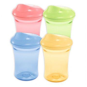 Поильник с пластиковой насадкой для питья  (2 в 1) Nuk Easy Learning 3, 275 мл с 14 мес.