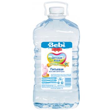 Детская вода Bebi питьевая с рождения 5 л