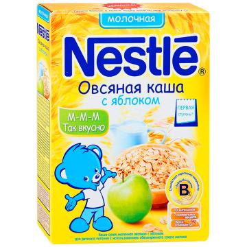 Каша Nestle овсяная с яблоком молочная 1 ступень 250 г