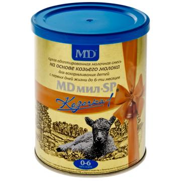 Молочная смесь MD Мил SP Козочка 1 адаптированная на козьем молоке с 0 мес. 400 г