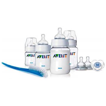 Набор бутылочек для новорожденных Avent полипропилен