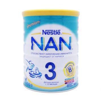 Детское молочко (молочная смесь) Nan 3 с бифидобактериями (BL) с 12 мес. 800 г