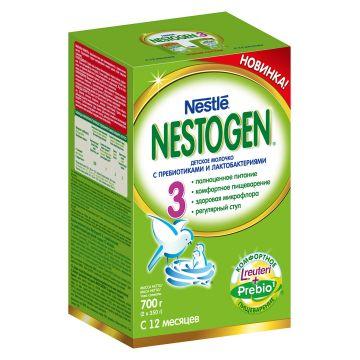 Детское молочко (молочная смесь) Nestogen 3 (с пребиотиками) с 12 мес. 700 г