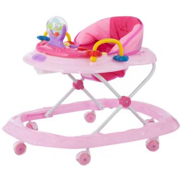 Ходунки Baby care Walker (розовый)