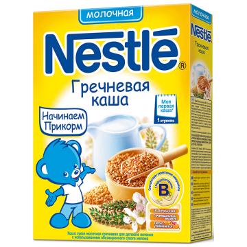 Каша Nestle гречневая молочная 1 ступень 250 г