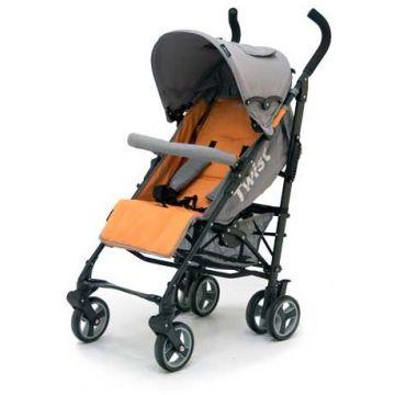 Коляска-трость Jetem Twist Orange-Grey