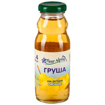 Сок Fleur Alpine Грушевый осветленный Organic с 4 мес. 200 мл.