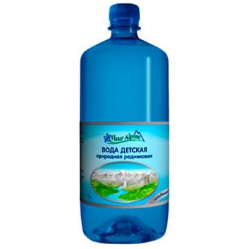 Детская вода Fleur Alpine природная родниковая с рождения 1 л.