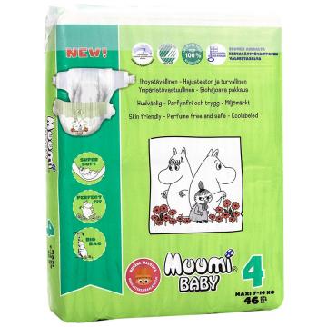 Подгузники Muumi Baby Maxi (7-14 кг) 46 шт