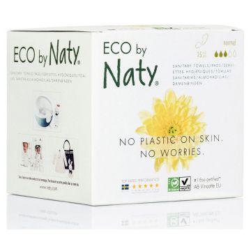 Прокладки женские гигиенические Naty Normal 15 шт