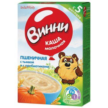 Каша Винни пшеничная с тыквой молочная с 5 мес. 220 г
