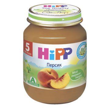 Детское пюре Детское питание Hipp Персик с 5 мес. 80 г
