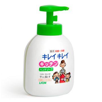 Мыло жидкое антибактериальное для рук (для кухни) Lion Kirei Kirei 250 мл