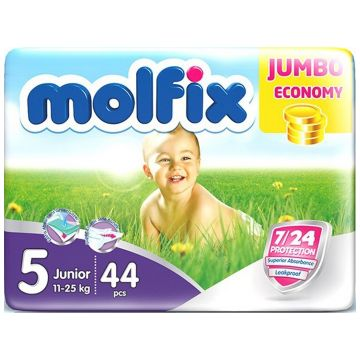 Подгузники Molfix Junior (11-25 кг) 44 шт