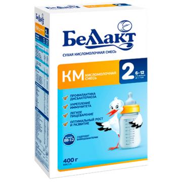 Сухая молочная смесь Беллакт Кисломолочный 2 с 6 мес. 400 гр
