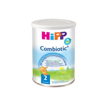 Молочная смесь Детское питание Hipp 2 Комбиотик с 6 мес. 350 г