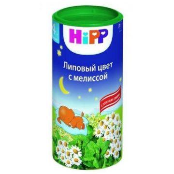 Чай детский Hipp Успокаивающий  (Липовый цвет с мелиссой) с 4 мес. 200 г