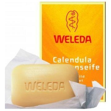 Мыло растительное Weleda с календулой и лекарственными травами 100 г