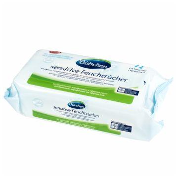 Влажные салфетки для детей Bubchen для чувствительной кожи 72 шт