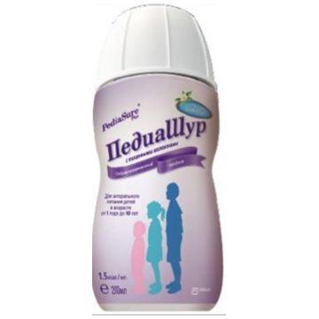 Специализированный продукт для диетического (лечебного) питания детей ПедиаШур 1.5 с пищевыми волокнами ваниль