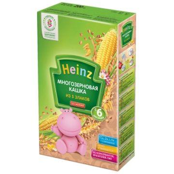 Каша Heinz многозерновая из пяти злаков с 6 мес. 200 г