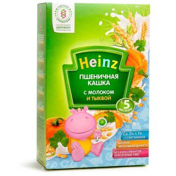 Каша Heinz пшеничная с тыквой и молоком 1 ступень 250 г