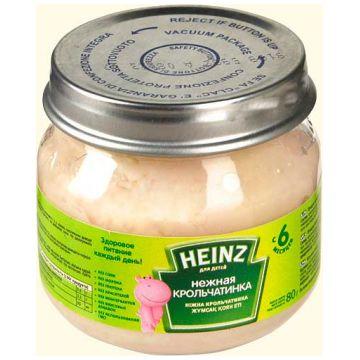 Детское пюре Heinz нежная крольчатинка с 6 мес. 80 г