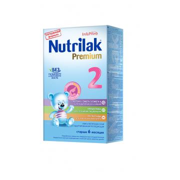 Молочная смесь Nutrilak Premium 2 с 6-12 мес. 350 г