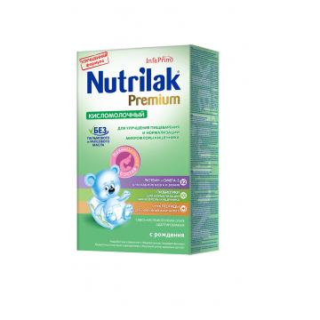Молочная смесь Nutrilak Кисломолочный с 0 мес. 350 г