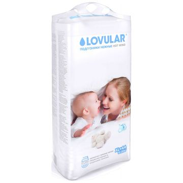 Подгузники Lovular Hot Wind размер XL (12-20 кг) 44 шт