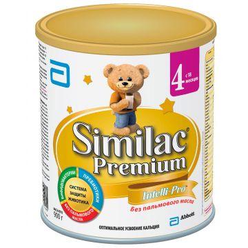 Молочная смесь Similac 4 Premium с 18 месяцев 900 г