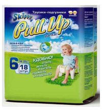 Трусики Skippy Pull Up XXL (16-25 кг) 18 шт
