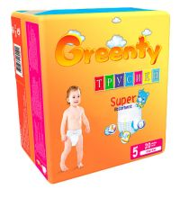 Трусики Greenty BIG (12+ кг) 20 шт