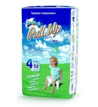 Трусики Skippy Pull Up, L (9-14 кг) 52 шт