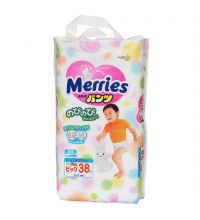 Трусики Merries BIG (12-22 кг) 38 шт