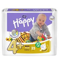 Подгузники Bella Baby Happy, размер Maxi plus (9-20 кг) 25 шт