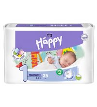Подгузники Bella Baby Happy, размер NB (2-5 кг) 25 шт