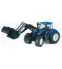 Игрушка Bruder Трактор New Holland T8040 с погрузчиком 03-021