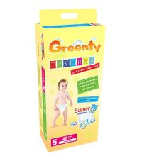 Трусики Greenty BIG (12+ кг) 40 шт